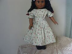 1850's style dress for 18 inch doll by DollClothesbyEvie on Etsy, $28.00
