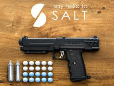 The SALT Pepper Spray Gun is designed to offer the same trusted, non-lethal protection of pepper spray but at 10 times the safe distance.