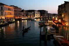 Venezia view from Rialto Bridge..