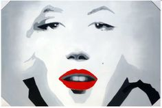 Red Lips - Direct Art Australia,  Price: $599.00,  Shipping: Free Shipping,  Size: 100 x 150cm Premium,  Framing: Framed (Gallery Wrap & Ready to Hang!),  Instock: Yes - immediate free delivery Australia wide!  Not a Print - our artists are professionally trained and use the best oil paints.  http://www.directartaustralia.com.au/