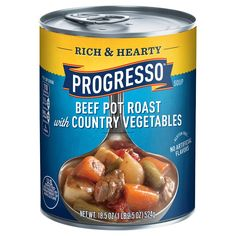 When you can't make it yourself make it Progresso soups. Enjoy the classic homemade taste of Progresso Rich & Hearty Minestrone with Italian Sausage Soup with quality ingredients. Sin Gluten, Gluten Free, Dairy Free, Italian Sausage Soup, Beef Pot Roast, Sirloin Steaks, Yummy Food, Recipes, Soups