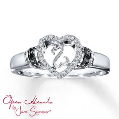 This ring would make a good promise ring!