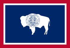 Soubor:Flag of Wyoming.svg
