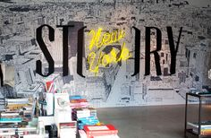 sagmeister & walsh. story. store theme changes every 6 weeks.