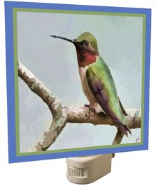 Humming Bird 'Cheeky' Night Light From Doggylips by DoggyLips on Etsy
