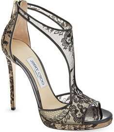 Sexy or Tacky Silver Glitter Jimmy Choo 'Lana' Twill Sandals - heels classy Pretty Shoes, Beautiful Shoes, Cute Shoes, Me Too Shoes, Gorgeous Heels, Prom Heels, High Heels For Prom, Jimmy Choo Shoes, Black High Heels