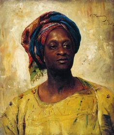 """"""" """"An Arab in a turban """" by Konstanitn Makovsky, 1882.  """"  1800s Week!  Konstantin Makovsky  [x]"""