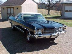 1971 Chevrolet El Camino All original!