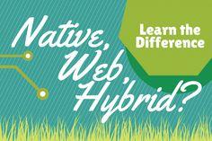 Native Vs Web Vs Hybrid apps