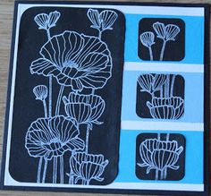 Jettescraftcorner: Black and Blue Used Materials: - Stamp - ColorBo. Colorbox, Stamp, Blog, Stamps