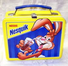 vintage Nestle Nesquik Metal Lunchbox