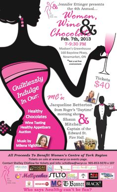 4th annual Women Wine and Chocolate