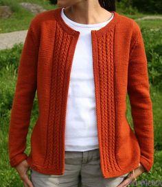 Ravelry: Casual Cardigan pattern by Amanda Lilley - Knitting Cardigan Knit Cardigan Pattern, Sweater Knitting Patterns, Crochet Cardigan, Knitting Designs, Knit Patterns, Knit Crochet, Casual, Sweaters, Ravelry