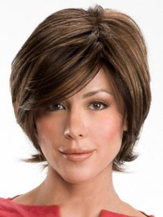 Gracefull Short Wavy Real Human Hair Wigcheap Human Hair Wigs