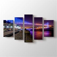 15 Temmuz Şehitler Köprüsü Kanvas Tablo