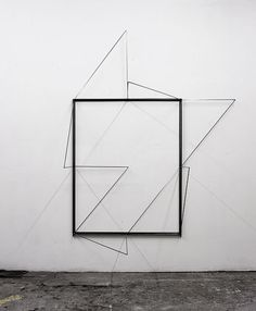 Untitled by Nick van Woert, I would like to see a time-lapse where you could see how the shadows change. Geometric Art, Geometric Sculpture, Art Portfolio, Art Design, Installation Art, Contemporary Artists, New Art, Sculpture Art, Painting