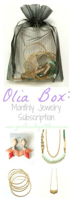 Olia Box: Monthly Jewelry Subscription