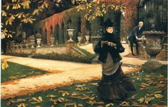 The Letter - James Tissot (1878) oil on canvas 71.4x107.1cm National Gallery of Canada