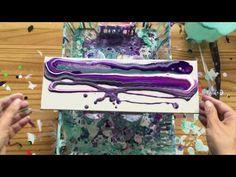 Acrylic pouring ( 3 ) - YouTube