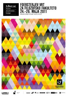 Triangle inspiration. Love the play of colours, and shapes within shapes.
