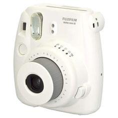 Câmera Instantânea Fujifilm Instax Mini 8 Branco - Compactas no Pontofrio.com