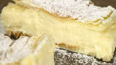 Krempita – Cremeschnitten Rezept – Any Blum – Serie (party desserts cake mixes) Party Desserts, No Bake Desserts, German Baking, Cut Recipe, Slice Recipe, Baking Cupcakes, Sweet Cakes, Food Cakes, Cheesecake Recipes