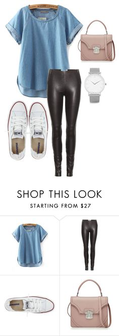 """running errands!"" by gnoix-0807 on Polyvore featuring Maison Margiela, Converse, Alexander McQueen, Larsson & Jennings and casualwear"