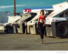 Ванесса Хадженс в Flaunt Magazine