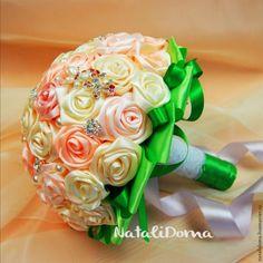 Как сделать Свадебный Букет своими руками - Ярмарка Мастеров - ручная работа, handmade