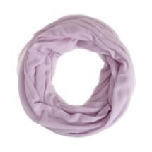 "What a beautiful, soft, feminine color. Hmmm. I just wish these ""eternity"" scarves had shown up BEFORE I finally learned how to tie my scarves! Parker Blue Eternity Scarf"