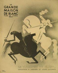 Jean Carlu - dessinateur publicitaire, affichiste, catalogue 1930