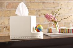 What will Nora Fleming come up with next? In stores now, The Tissue Box Cover! A perfect finishing detail for any room!