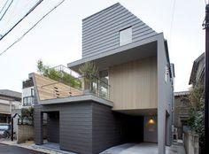 japan-architects.com: 河野有悟による大田区の「南雪谷の家」