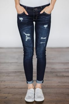 41a145c9ca Kan Can Jeans - Lindsey Wash – The Pulse Boutique Rolled Jeans