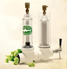 Makes crap beer better. Randall, a true Dogfish Head invention, is an organoleptic hop transducer module. What's that you say? A double-chamber filter that you connect to a tap of your favorite beer and fill with flavor-enhancing ingredients.