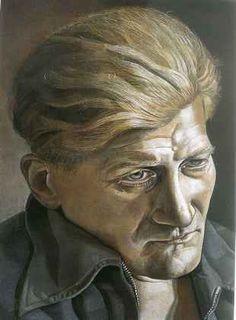 Portrait of a Man (John Craxton), 1946, Lucien Freud