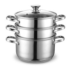 Cook N Home NC-00313 Double Boiler and Steamer Set, Stainless Steel - http://cookware.everythingreviews.net/13711/cook-n-home-nc-00313-double-boiler-and-steamer-set-stainless-steel.html