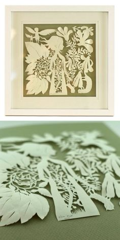 Paper cutting - Elsa Moura