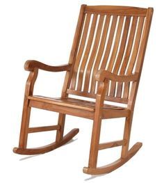 Find All Things Cedar Teak Rocker Chair online. Shop the latest collection of All Things Cedar Teak Rocker Chair from the popular stores - all in one Rocking Chairs For Sale, Rocking Chair Plans, Wooden Rocking Chairs, Outdoor Rocking Chairs, Teak Outdoor Furniture, Garden Furniture, Furniture Projects, Diy Furniture, Garden Chairs