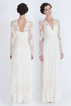 I love lace wedding dresses! I'm going to wear a lace wedding dress when it if I get married