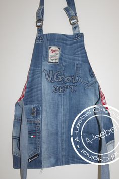 Schortje van old-VINGINO jeans. Made by A-leebel.nl