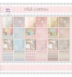 Rosadotje Paperpad old cotton bedrukt