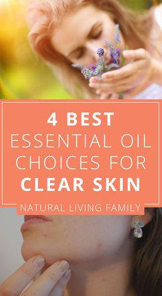 Ready to take the plunge into natural skincare? Read this article about essential oils for acne and the best essential oils for acne scars. Essential Oil Carrier Oils, Essential Oils For Pain, Essential Oil Uses, Best Oil For Acne, Wild Orange Essential Oil, Best Oils, Natural Skin Care, Natural Beauty, Oils For Skin