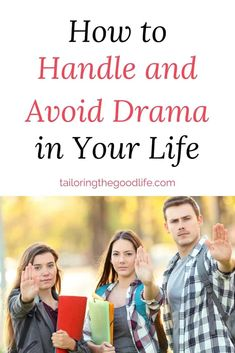 There are all kinds of drama you probably want to avoid. Learn to recognize the drama, how to handle it, and tips to avoid drama altogether. For your own life, and to help your teenagers deal with the drama. Cause who has time for drama, right?#avoidingdrama #drama #selfcare #toxicpeople Why Do People, Toxic People, Daily Routine Schedule, Daily Routines, Snapchat Groups, Self Confidence Tips, Raising Teenagers, Real Friends, Working Moms