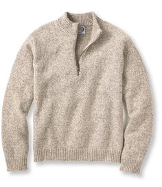 Northeast Knitting Quarter-Zip Sweater. Made in the USA | Free Shipping at L.L.Bean $85