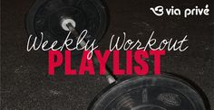 This week's #workout #playlist is up! Get your #wod on while listening to our favorite hits of the week! #gohard #music #hits #crossfit