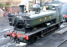 7714, GWR 5700 Class 0-6-0 pannier tank. Photographed at Bridgenorth on 8 March 2009 during the Severn Valley Railway Steam Gala.