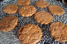 Biscoitos de Chocolate com Whey