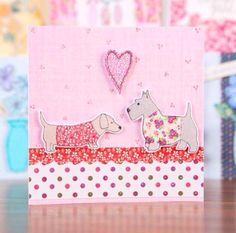 Card created by Julie Hickey using the Fab Fabrics Collection.