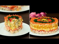 YouTube Timbale Recipe, Cooking Videos, Cooking Recipes, Russian Recipes, Salad Bar, Cheesecake, Tasty, Favorite Recipes, Desserts